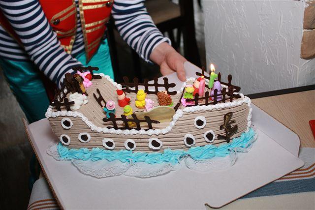 Торт корабль своими руками пошагово без мастики 76